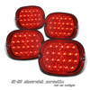 Chevrolet Corvette 1991-1996 Red LED Tail Lights