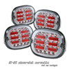 Chevrolet Corvette 1991-1996 Chrome LED Tail Lights