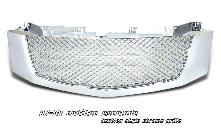 Cadillac Escalade 2007- 2008 Bentley Style Chrome Grill