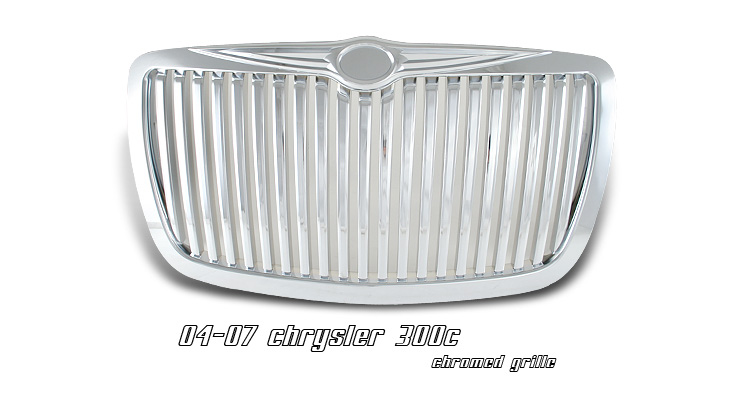 Chrysler 300/300C 2004-2007 Chrome Grill Insert