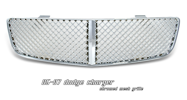 Dodge Charger 2006-2008 Chromed Mesh Grill Insert