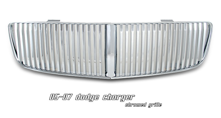 Dodge Charger 2006-2008 Chrome Grill Insert