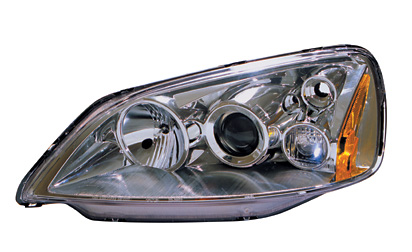 Honda Civic 2001-2003 Projector Headlights (Chrome)
