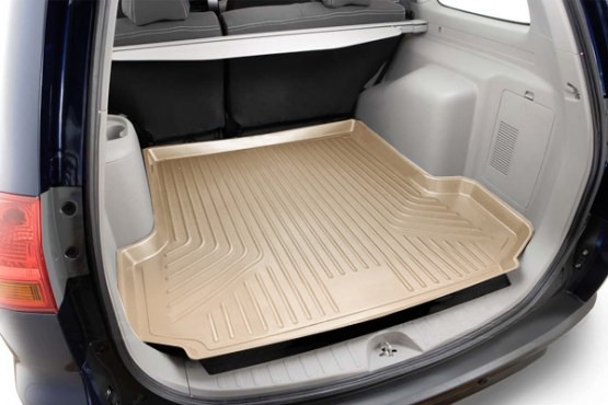 Dodge Durango 2011-2013 With 3rd Row Seat Option Husky Weatherbeater Series Cargo Liner - Tan