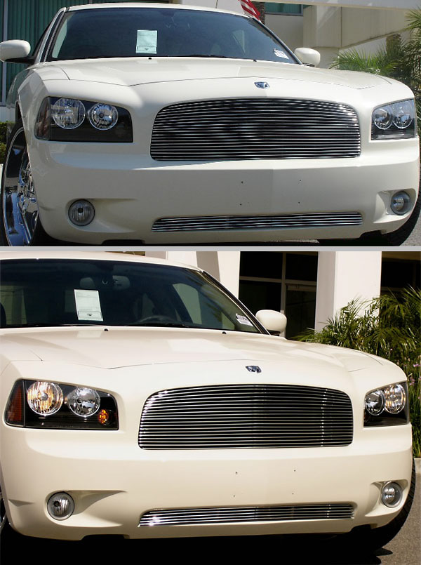 Dodge Charger 2006 Custom Front Grill Insert