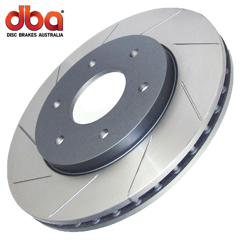 Ford Mustang V6 2011-2014 Dba Street Series T-Slot - Rear Brake Rotor