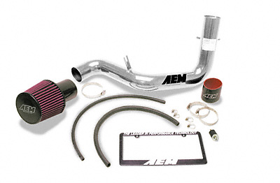 Honda Fit 2007 AEM Cold Air Intake- Polished