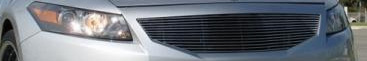 Honda Accord Sedan 2008 T-Rex Main Vertical Chrome Grill