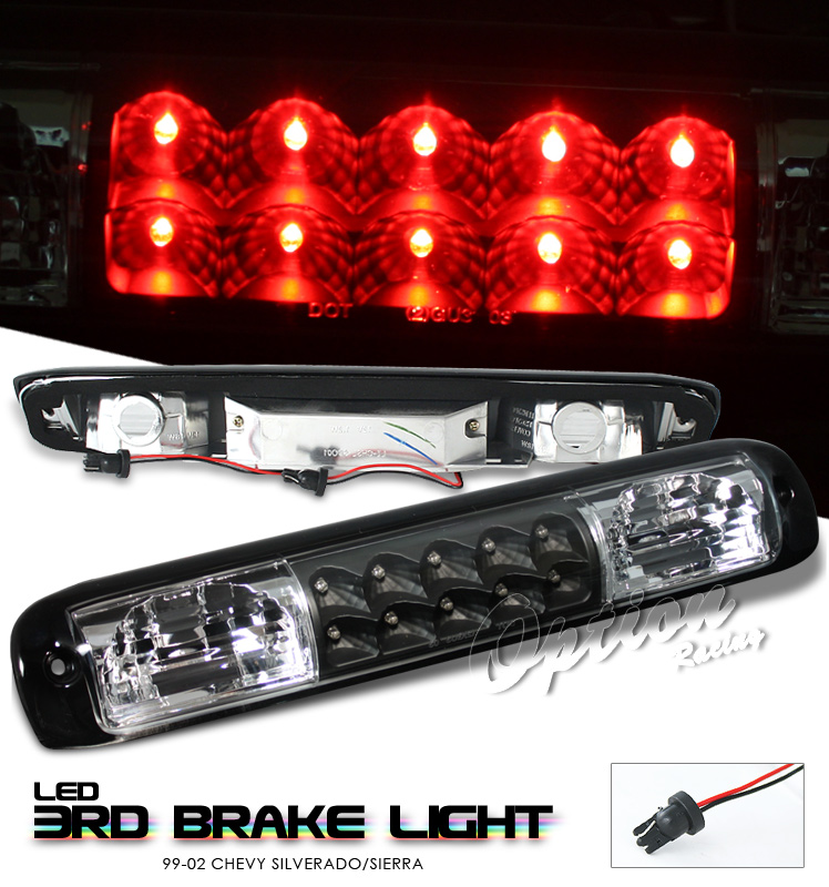 Chevrolet Silverado 1999-2005  Black LED 3rd Brake Light