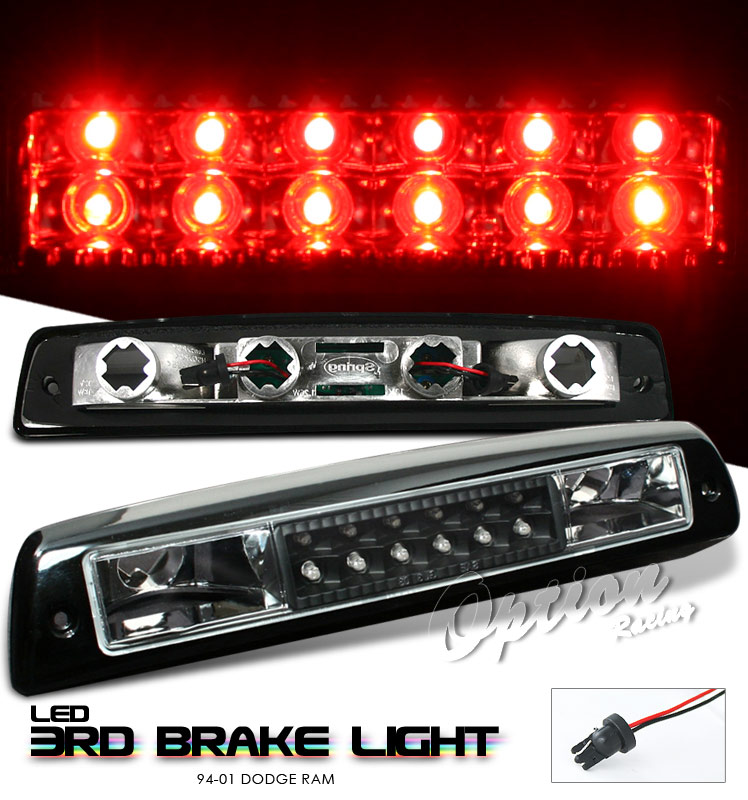 Dodge Ram 1994-2001  Black LED 3rd Brake Light