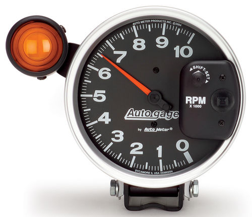 Auto Meter 5 in. Autogage Monster Tachometer w/Shift-Lite