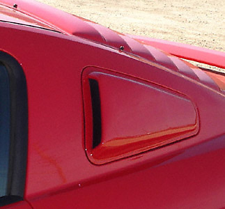 Ford Mustang 2005 (All) Side Window Covers