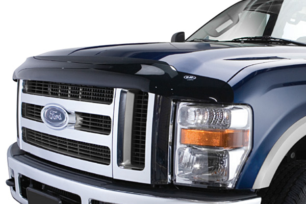 Ford Econoline 2008-2012 Full Size Bugflector Ii� Hood Shield (smoke)