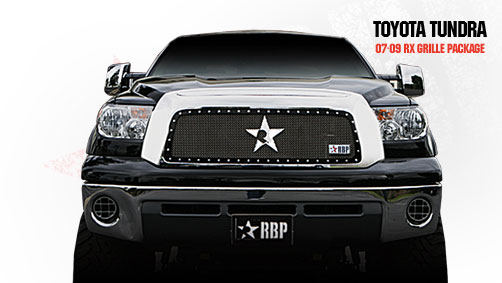 Toyota Tundra  2007-2009 - Rbp Rx Series Studded Frame Main Grille Black