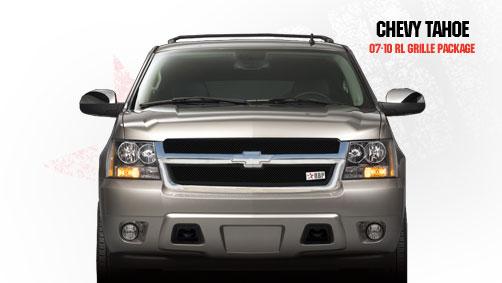 Chevrolet Suburban  2007-2011 - Rbp Rl Series Plain Frame Main Grille Black 2pc