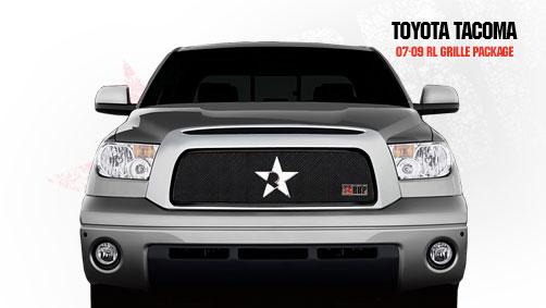 Toyota Tundra  2007-2009 - Rbp Rl Series Plain Frame Main Grille Black