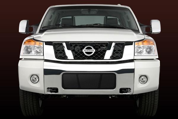 Nissan Armada  2004-2007 - Rbp Rl Series Plain Frame Bumper Grille Black