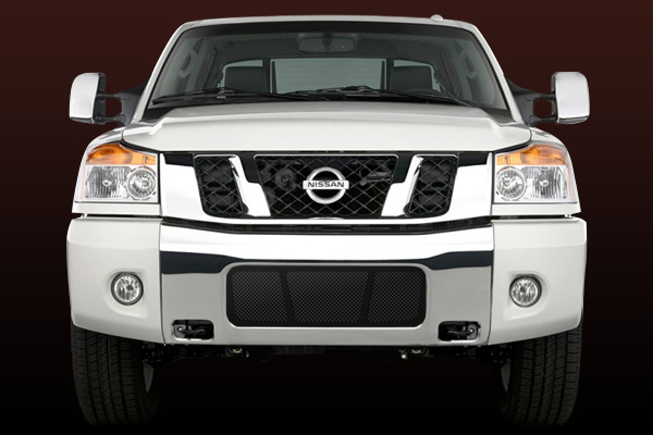 Nissan Titan  2004-2009 - Rbp Rl Series Plain Frame Main Grille Black