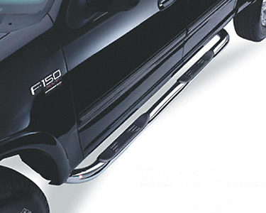 Honda Ridgeline 05-07 Black Step Bars