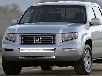 Honda Ridgeline 05-07 Lower Grill Overlay (4 Pieces)