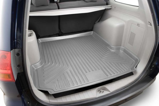 Hyundai Santa Fe 2013-2013  Husky Weatherbeater Series Cargo Liner - Gray
