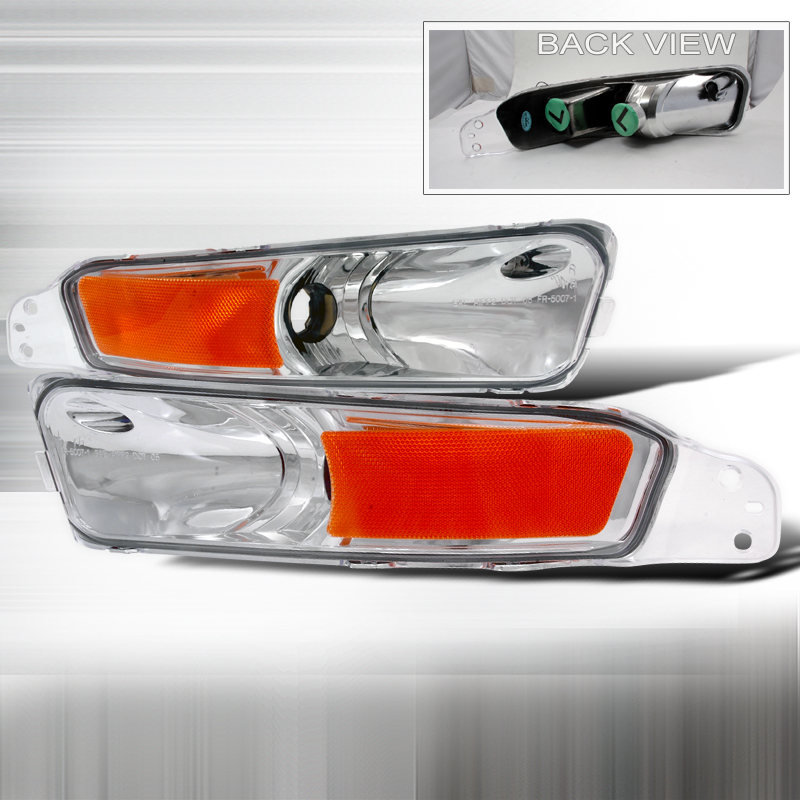 Ford Mustang 2005-2009 Clear Bumper Lights