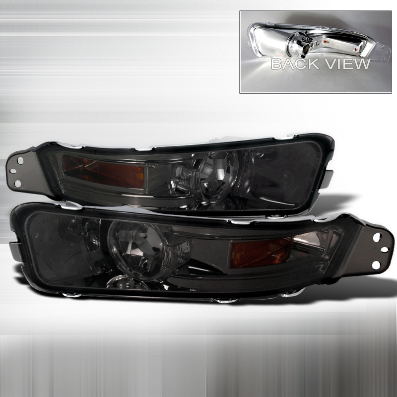 Ford Mustang 2005-2009 Smoke Bumper Lights