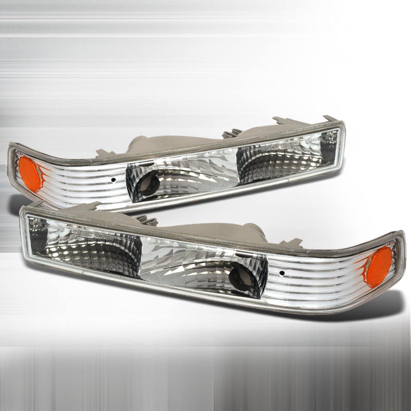 Chevrolet S10 Pickup 1998-2004 Clear Bumper Lights