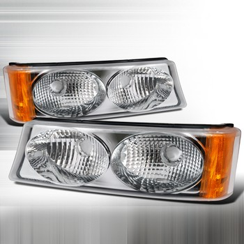 Chevrolet Silverado 2003-2006 Clear Bumper Lights
