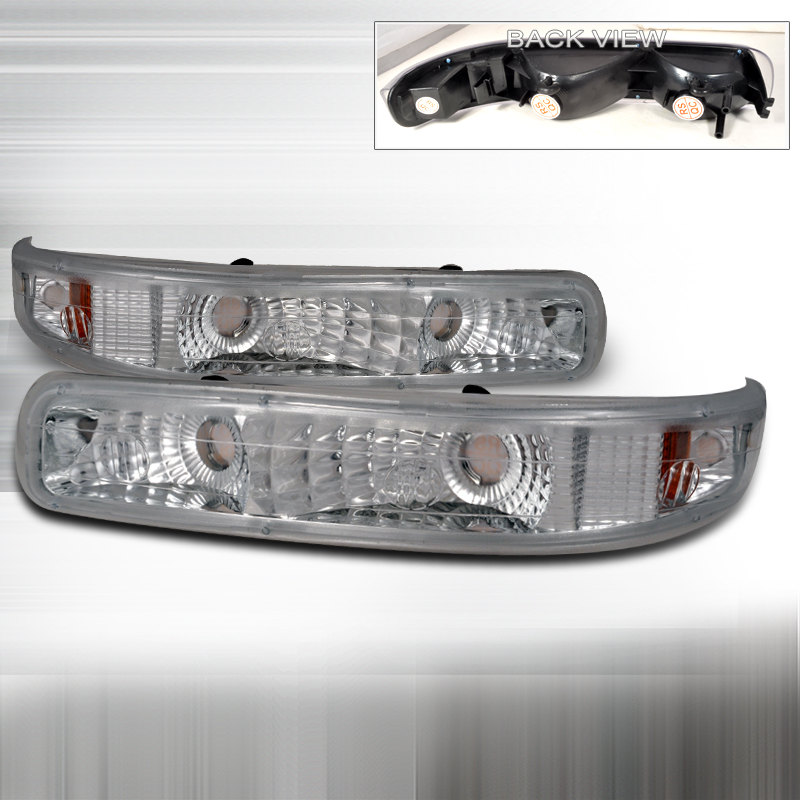 Chevrolet Silverado 1999-2002 Clear Bumper Lights