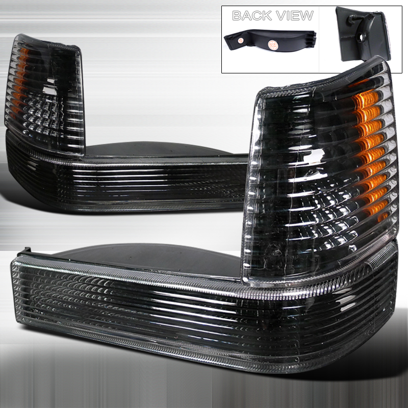 Jeep Grand Cherokee 1993-1998 Black Bumper & Corner Lights