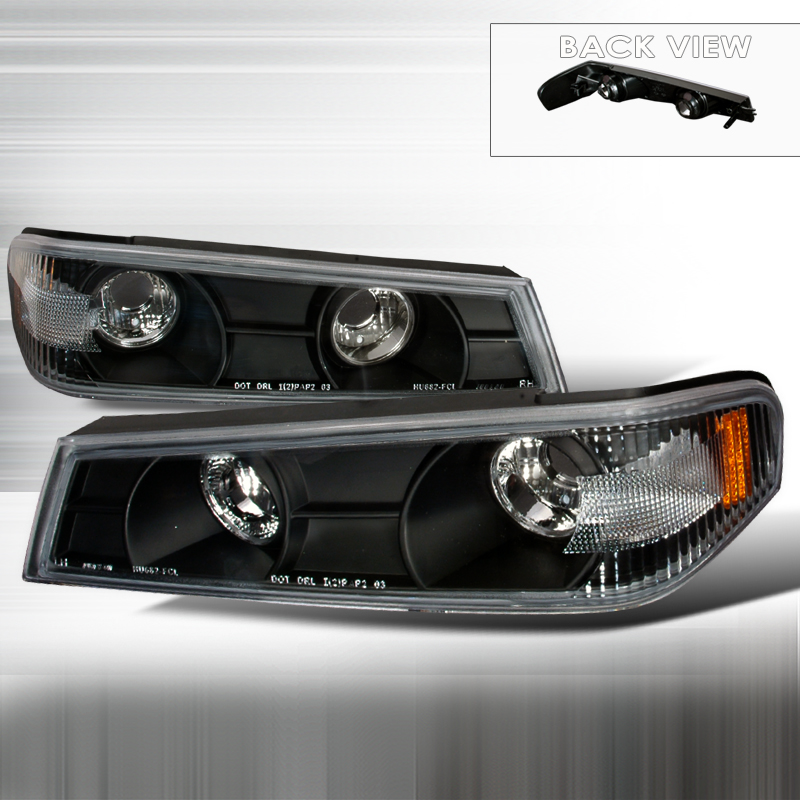 Gmc Canyon 2004-2012 Black Corner Lights