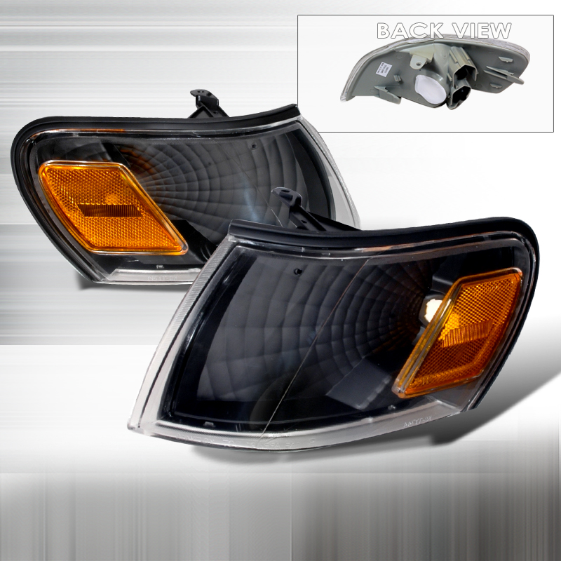 Toyota Corolla 1993-1997 Black Corner Lights