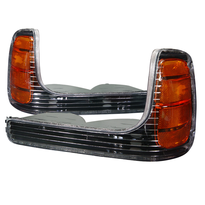 Cadillac Escalade 1999-2000 Black Corner Lights