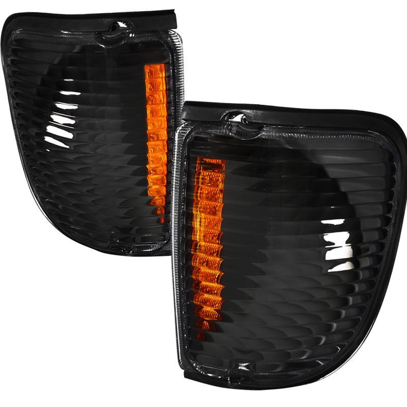 Ford Econoline 1992-2006 Black Corner Lights
