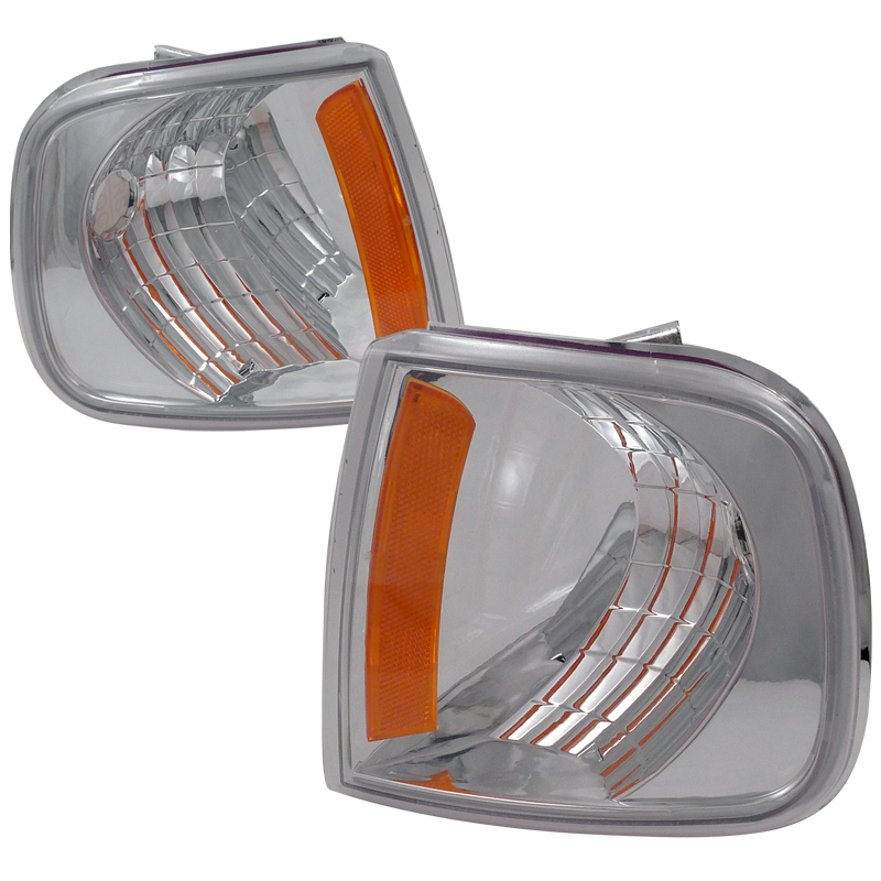 Ford F150 1997-2003 Clear Corner Lights