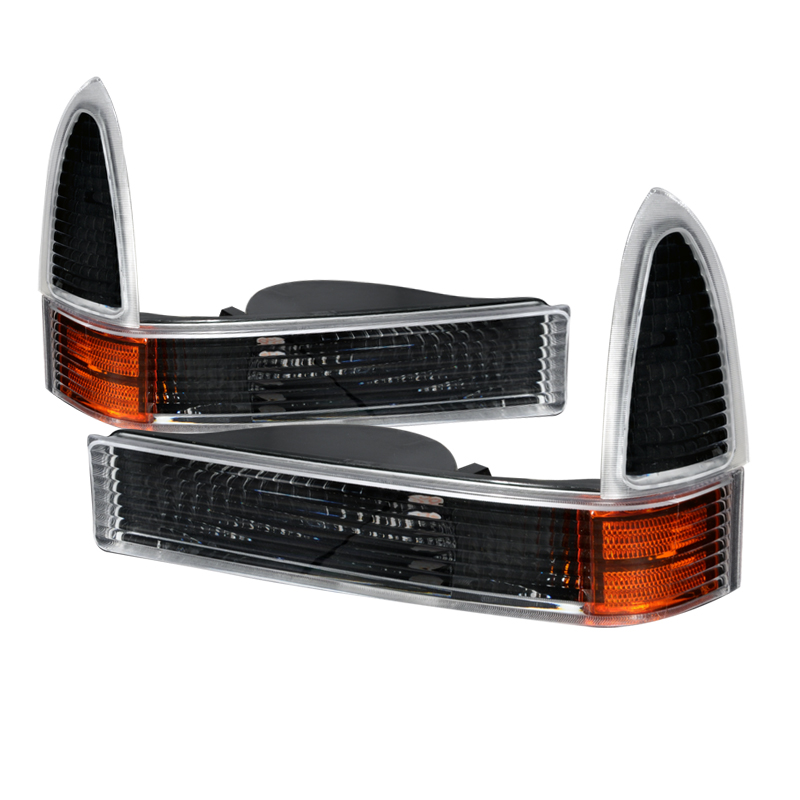 Ford Super Duty 1999-2005 Black Corner Lights