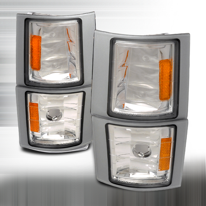 Chevrolet Full Size Pickup 1994-1998 Clear Corner Lights
