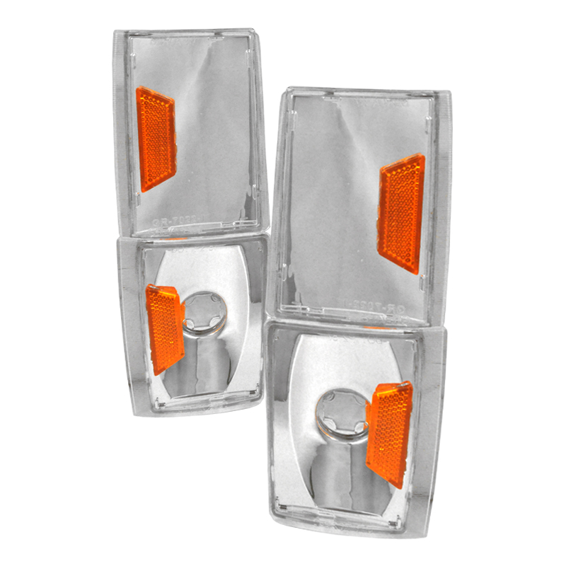 Gmc Sierra 1988-1993 Clear Corner Lights