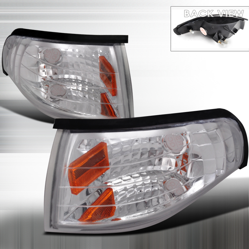 Ford Mustang 1994-1998 Clear Corner Lights
