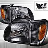 2002 Toyota Tacoma  Black Euro Headlights