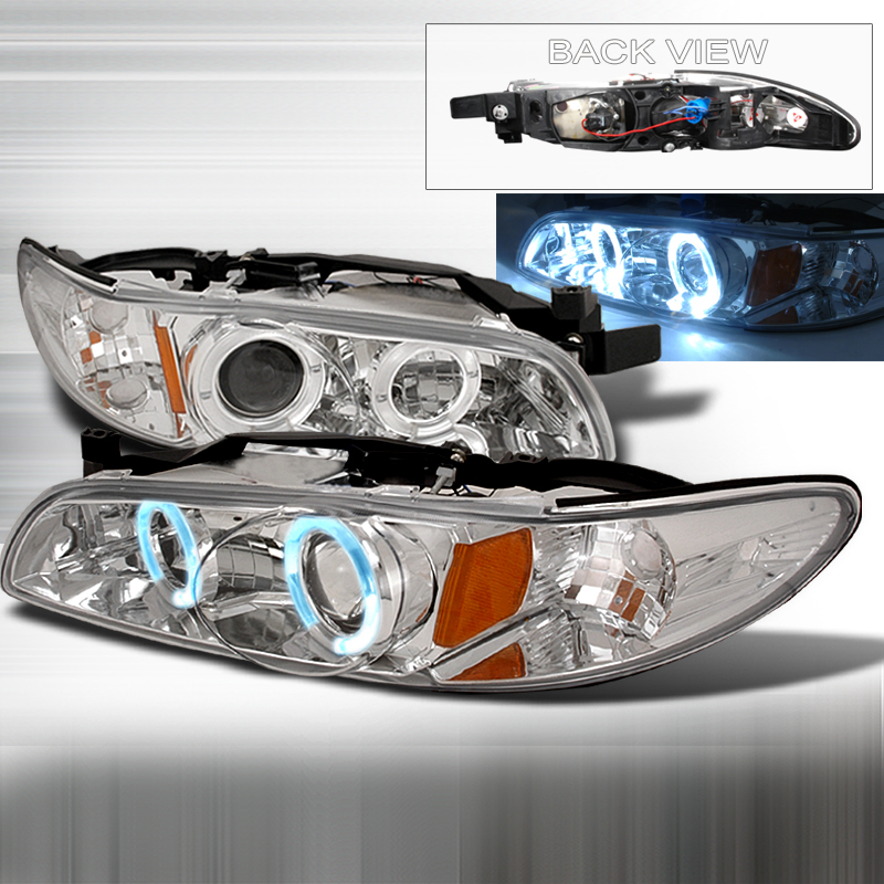 Pontiac Grand Prix 1997-2003 Chrome Projector Headlights