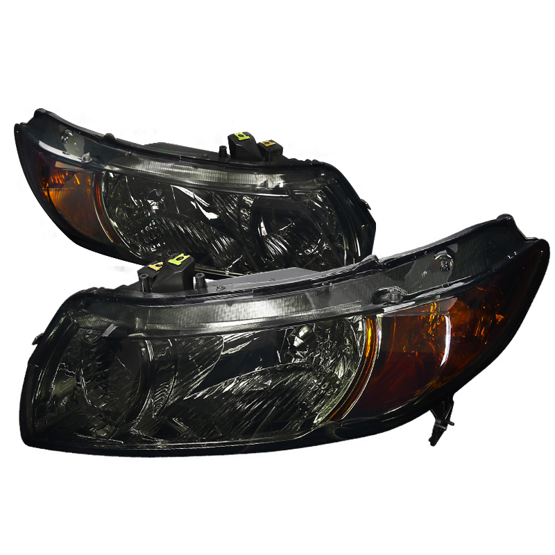 Honda Civic 2006-2010 Smoke Euro Headlights
