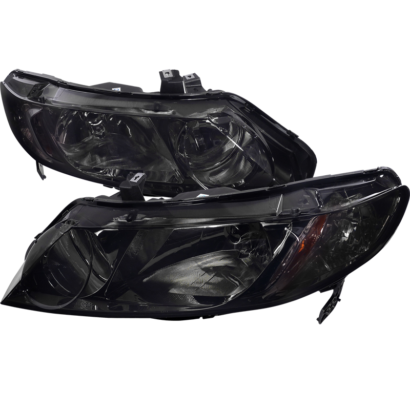 Honda Civic 2006-2011 Smoke Euro Headlights