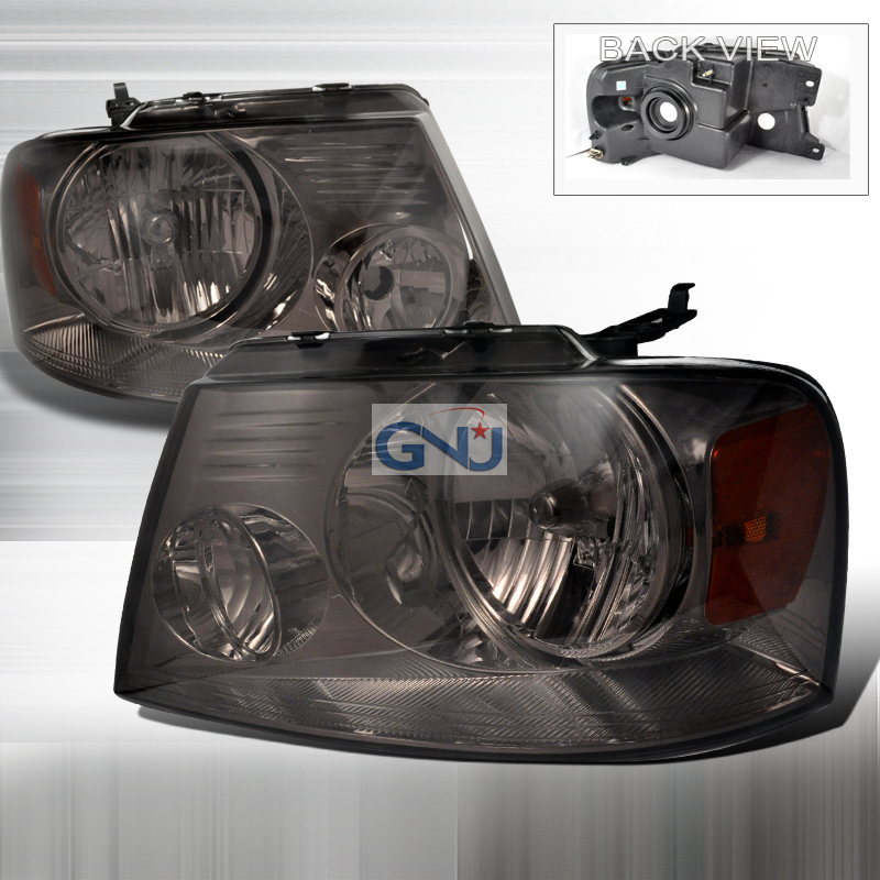 Ford F150 2004-2008 Smoke Euro Headlights
