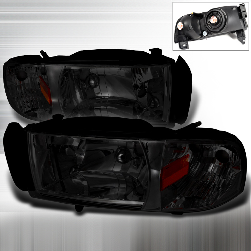 Dodge Ram 1994-2001 Smoke Euro Headlights