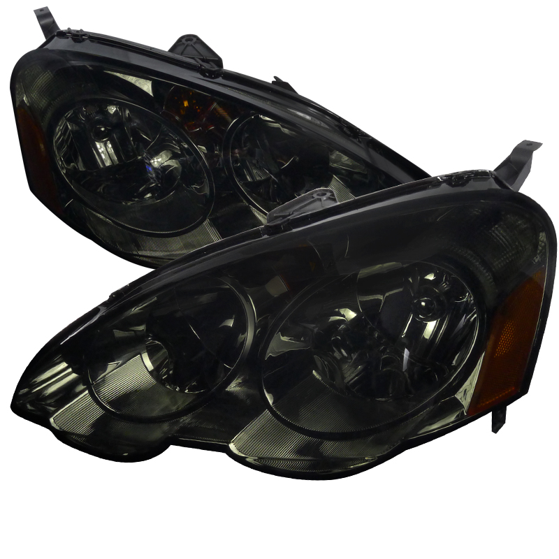 Acura RSX 2002-2004 Smoke Euro Headlights By Spec-D