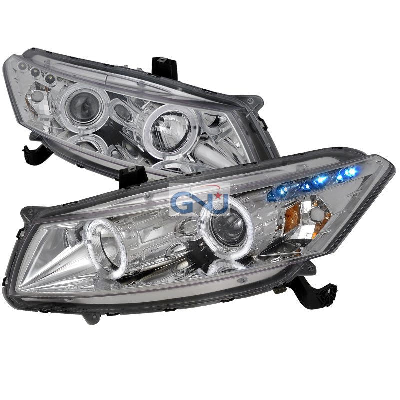 Honda Accord  2008-2012 Chrome Halo Projector Headlights