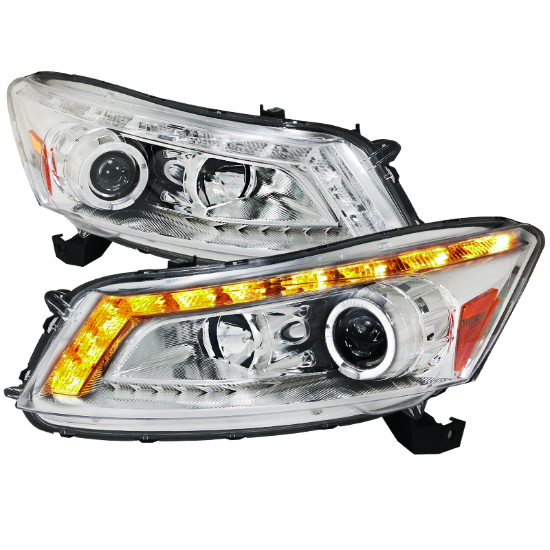 Honda Accord  2008-2011 Chrome Halo Projector Headlights