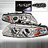 2000 Dodge Avenger   Chrome Halo Projector Headlights  W/LED'S